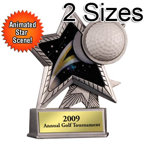 Golf Motion Star Award