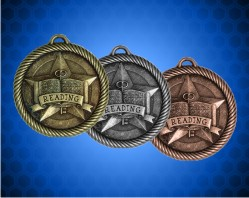 2 inch Reading Value Medals