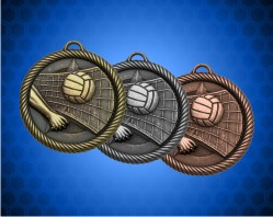 2 inch Volleyball Value Medal