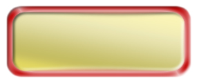 Blank Shiny Gold Nametag with a Shiny Red Metal Border