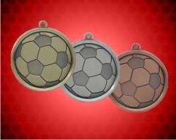 2 1/4 inch Soccer Mega Medals