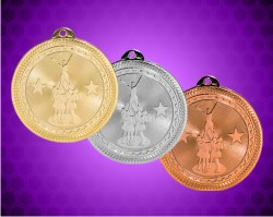 2 Inch Competitive Cheer Britelazer Medals