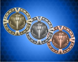 2 1/2 inch Victory BG Medals