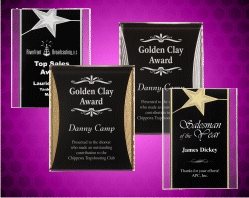 Star & Reflection Acrylic Plaques