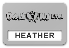 Reusable Smooth Plastic Windowed Name Tag: Smooth Silver with Black - LM922-344