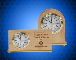 Alder Wood Clocks