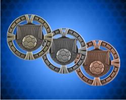 2 1/2 inch Soccer BG Medals