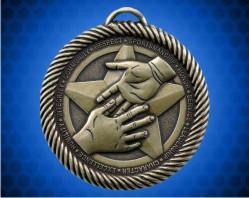 2 inch Sportsmanship Value Medal