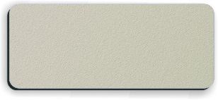 Blank Textured Plastic Name Tag: Ash Grey and Black - 822-374