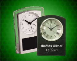 Aluminum/Plastic Clocks