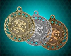 2 1/4 inch Wrestling Galaxy Medals
