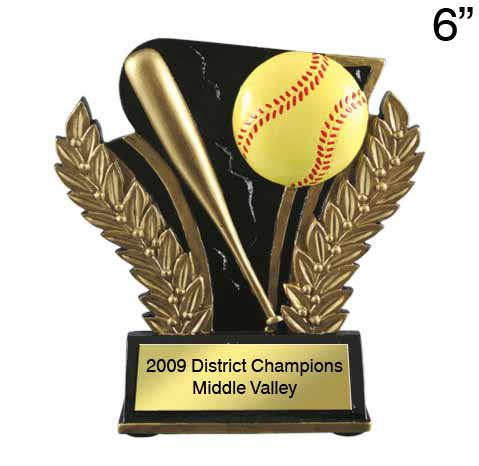 Softball Midnight Wreath Award