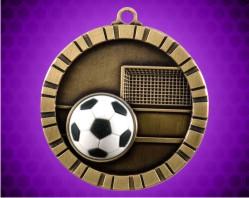 2 inch Soccer 3-D Medal