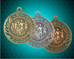 2 1/4 Inch Cross Country Galaxy Medals