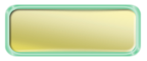 Blank Shiny Gold Nametag with a Shiny Green Metal Border