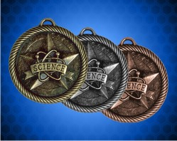 2 inch Science Value Medal