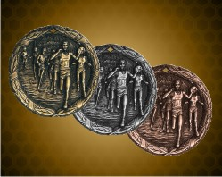 2 inch Cross Country XR Medals