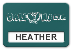Reusable Smooth Plastic Windowed Name Tag: Evergreen with White - LM922-912