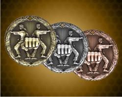 2 inch Karate XR Medal