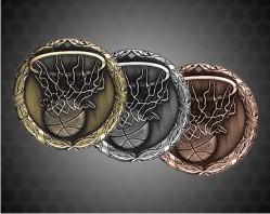1 1/4 Inch Basketball XR Medal