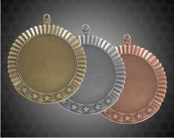 2 3/4 Inch Blank Star Medal