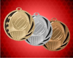 2 Inch Volleyball Midnite Star Medals