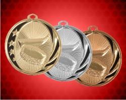 2 Inch Hockey Laserable Midnite Star Medals