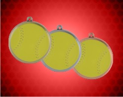 2 1/4 inch Softball Mega Medals