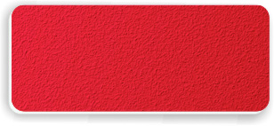 Blank Textured Plastic Name Tag: Pimento Red and White - 822-642