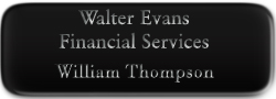 Metal Name Tag:  Black with Silver Laser Engraving