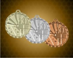 2 inch Gymnastics Bright Medals
