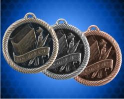 2 inch Language Arts Value Medal