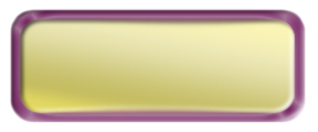 Blank Shiny Gold Nametag with a Shiny Purple Metal Border