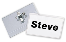 Name Badge Holders