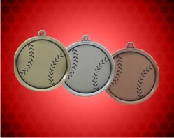 2 1/4 inch Baseball Mega Medals