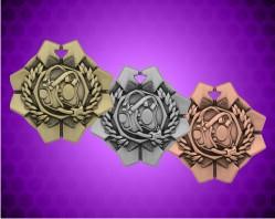 2 Inch Wrestling Imperial Medal