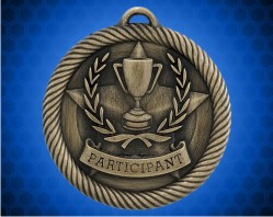 2 inch Participant Value Medal