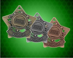 2 1/4 inch Track Star Medals