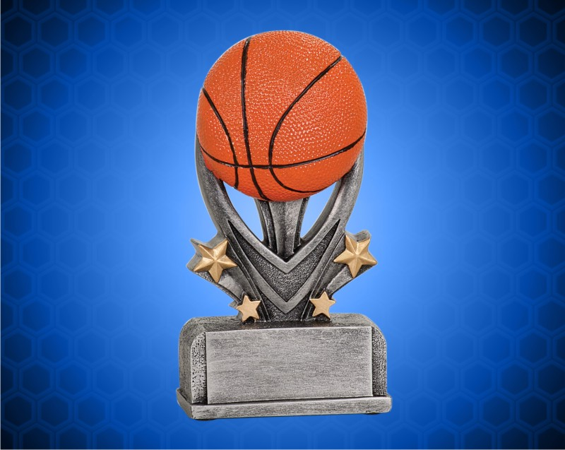 5 1/2 Inch Basketball Varsity Sport Resin