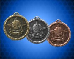 2 inch Social Studies Value Medals