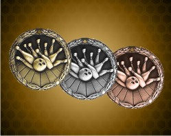 2 inch Bowling XR Medals