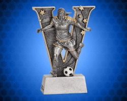 Female Soccer V Series Resin