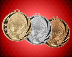 2 Inch Torch Laserable Midnite Star Medals