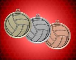2 1/4 inch Volleyball Mega Medals