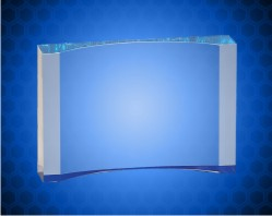 Blue 1 Inch Thick Acrylic