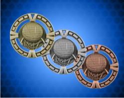 2 1/2 inch Basketball BG Medals
