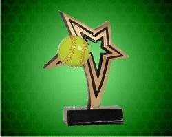 Softball Infinity Star Resin