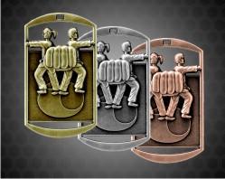 2 3/4 inch Martial Arts DT Medals
