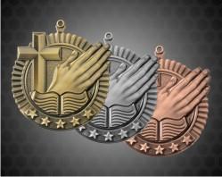 2 3/4 Inch Religion Star Medal