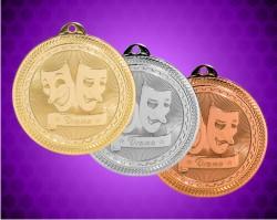 2 Inch Drama BriteLazer Medals